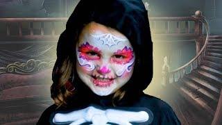 SpookyFace Paint | Skeleton Ball | Halloween Songs