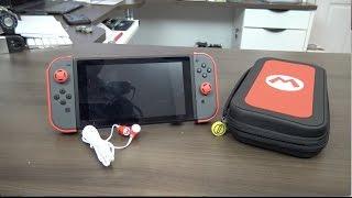 Como proteger tu Nintendo Switch & Joy Com Mario M