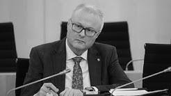hessischer Finanzminister Thomas Schäfer tot | hessen extra mit Statement des Ministerpräsidenten
