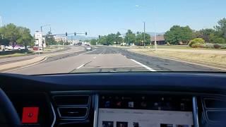 Tesla Autopilot Firmware 17.26.76 Demo/Test Local Road Curve