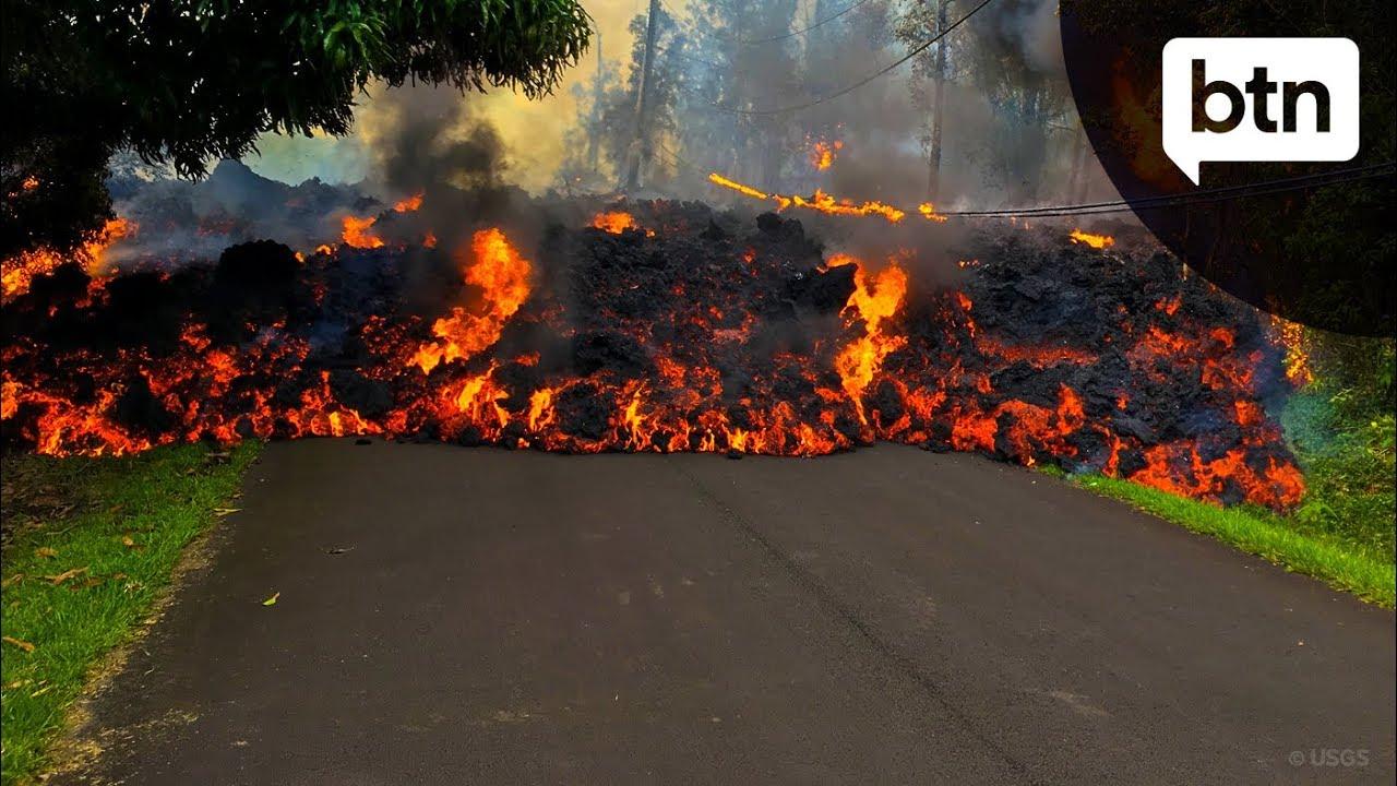 Hawaii U0026 39 S Kilauea Volcano - Behind The News
