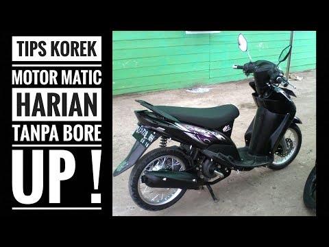 MOTOVLOG #35: Tips korek harian motor matic tanpa bore up!