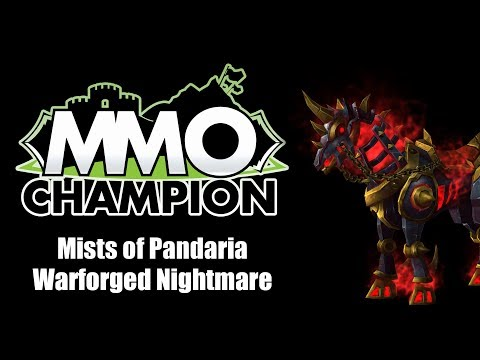 Patch 5.4.8 - Warforged Nightmare Mount