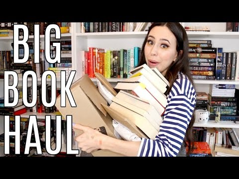 March Book Haul 2018 + Unboxing || Books with Emily Fox