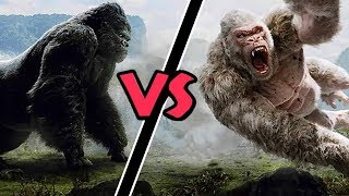 King Kong VS George (Rampage) - Who Would Win?