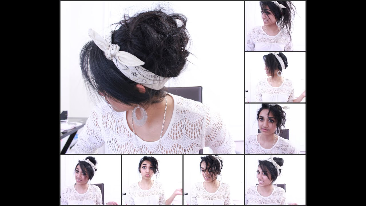 6 QUICK and EASY Updos for Long Hair - YouTube