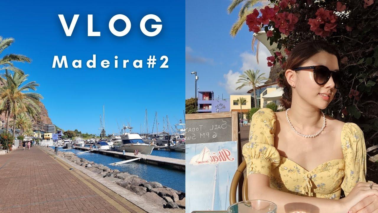 [VLOG] 예리미야 / 돌고래보러 스피드보트타고 바다로! 🐬 / 석양보며 저녁먹는 아름다웠던 마데이라 여행#2 ⛱