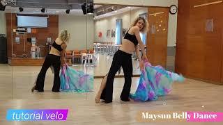 """Tutorial corso Danza del Ventre -""""Arco con il velo""""  lezione N° 52"""