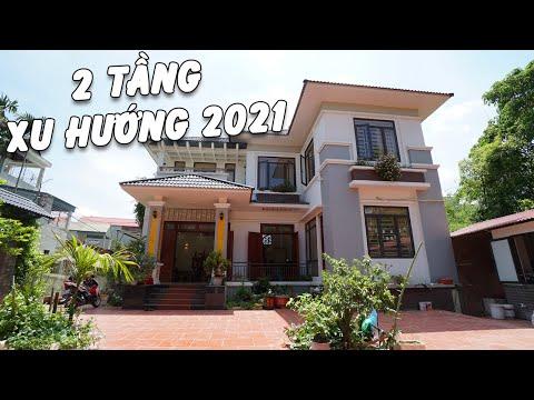 Mẫu Nhà 2 Tầng Đẹp Quyến Rũ Ở Mê Linh Hà Nội   Nhà Đẹp 4.0
