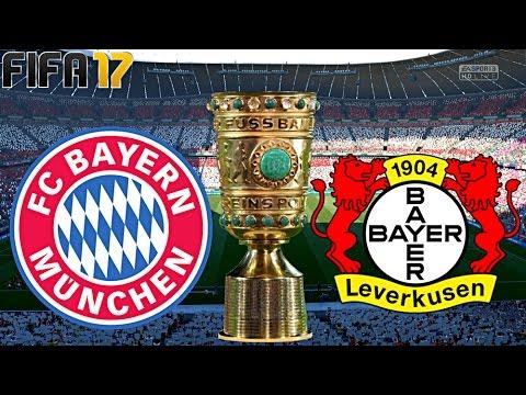 FIFA 17 - FC BAYERN MÜNCHEN vs. BAYER LEVERKUSEN | DFB POKAL 2.Runde ◄FCB #20►