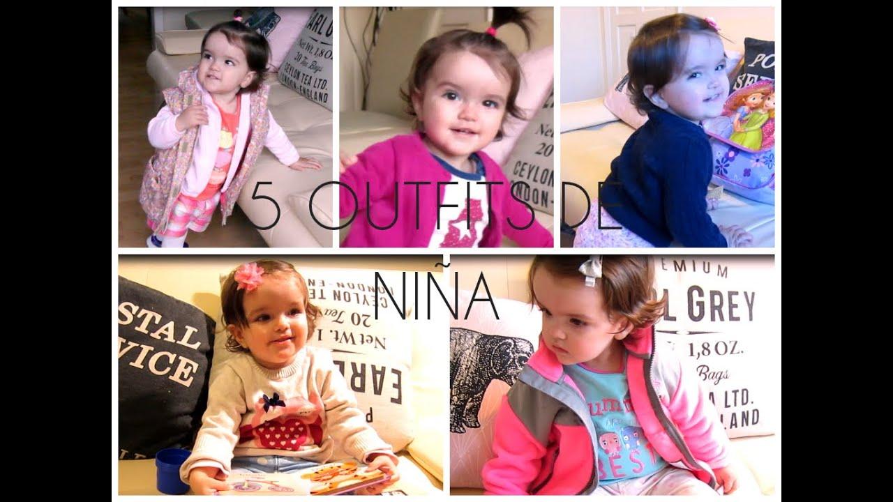 5 Outfits de Niña Otoño Invierno | Crecimiento y Desarrollo de mi ...