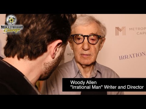 Woody Allen & Parker Posey Red-Carpet Interviews for 'Irrational Man'