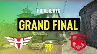 OVERTIMES AND INSANE CLUTCHES - ESL Pro League Season 13 Grand Final Highlights