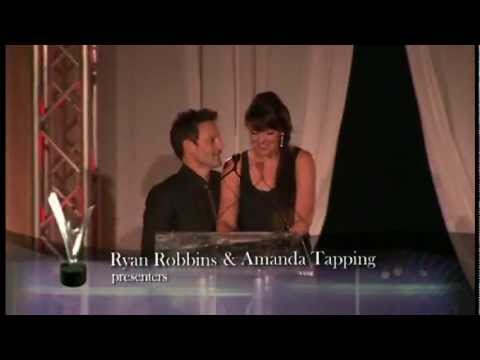 Leo Awards 2011 Amanda Tapping  Ryan Robbins