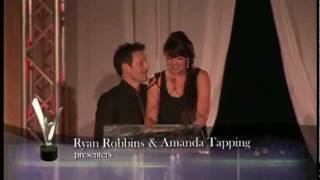 Leo Awards 2011 Amanda Tapping  Ryan Robbins