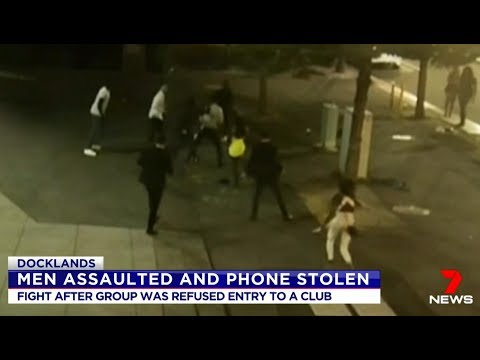 A Chaotic Saturday Night In Multicultural Melbourne. Seven + Nine News