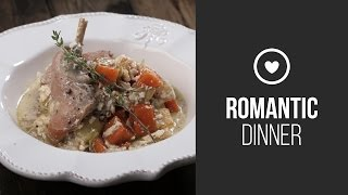 Rabbit In Cream Sauce With Vegetables || Around The World: Romantic Dinner || Gastrolab