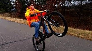 BEST Mountain BiKE wheelie EVER