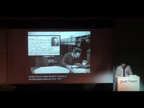 Boris Groys and Michael Taussig Lecture at the Jewish Museum