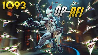 A BRAND NEW GENJI *OP* TRICK!! | Overwatch Daily Moments Ep.1093 (Funny and Random Moments)
