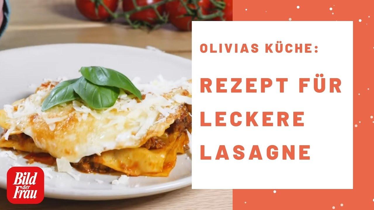 Olivias Küche Lasagne Rezept   BILD der FRAU