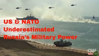 How The US & NATO Underestimated Russia's Military Power,  Russian Military Firepower Demonstration.