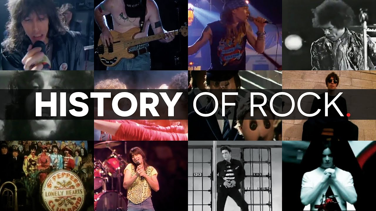 history of rock and roll timeline