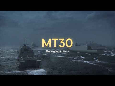 Rolls-Royce | The Mighty MT30 Marine Gas Turbine  Revolutionising Naval Propulsion