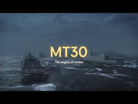 Rolls-Royce | The Mighty MT30 Marine Gas Turbine  Revolutionising Naval Propulsion