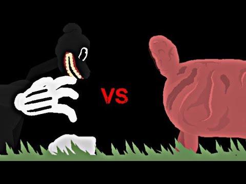 The Lamb Vs Cartoon Dog Stick Nodes Animation Trevor Henderson