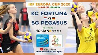 IKF ECup 2020 KV Fortuna - SG Pegasus