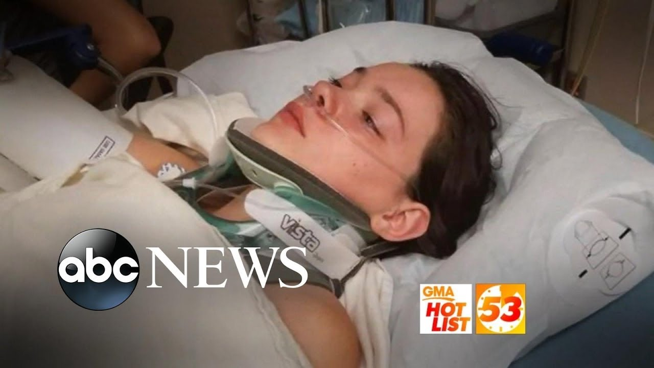 'GMA' Hot List: Teen pushed from bridge feels 'happy to be OK'