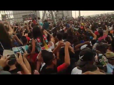 Major Lazer live in Havana, Cuba 2016 - the crowd