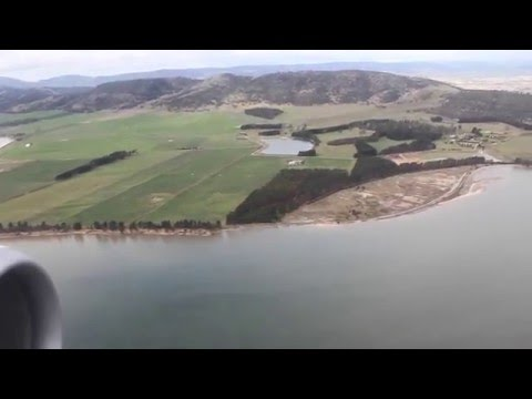 Virgin Australia Flight To Hobart | Descent And Landing | Australia, 2015