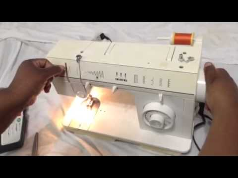 Singer Sewing Machine 40C 40 How To Thread Threading D YouTube Amazing Singer Sewing Machine 57817c