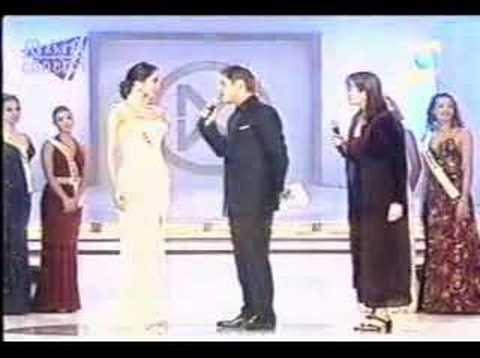 Miss Mundo 2002 Con Marina Mora