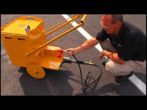SealMaster: MA-10 Melter Applicator For Applying CrackMaster Supreme Direct-Fire Crack Sealant