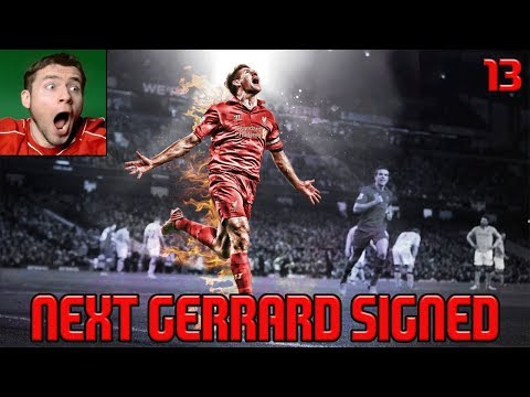NEXT GERRARD SIGNED & TRANSFER WINDOW OPEN! | FIFA 18 Liverpool Career Mode #13