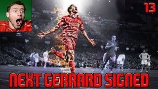NEXT GERRARD SIGNED!   FIFA 18 Liverpool Career Mode #13 - TRANSFER WINDOW OPEN!