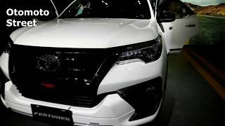 New Toyota Fortuner TRD Sportivo 2020 ,White colour ,Exterior and Interior
