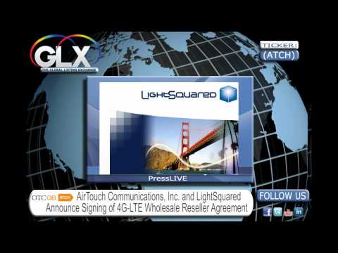 PressLIVE From GLXinc.com Today's Ticker: ATCH AirTouch Communications, Inc.