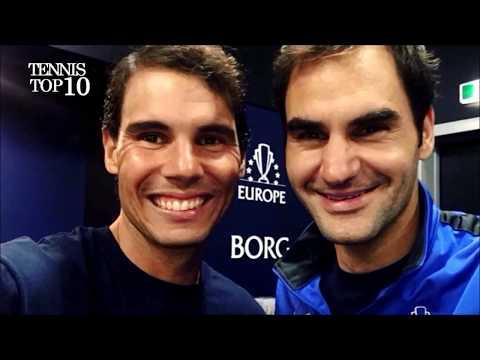 The One Handed Backhand Boys (Dimitrov, Federer, Haas) feat.  Djokovic