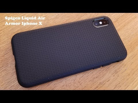 more photos c94de b0f7a Spigen Liquid Air Armor Iphone X Case Review - Fliptroniks.com