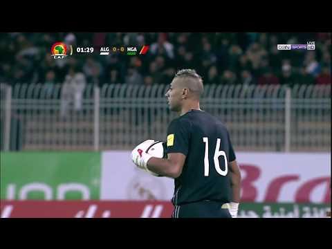 Algeria vs. Nigeria [FIRST HALF] (2018 World Cup Qualification)