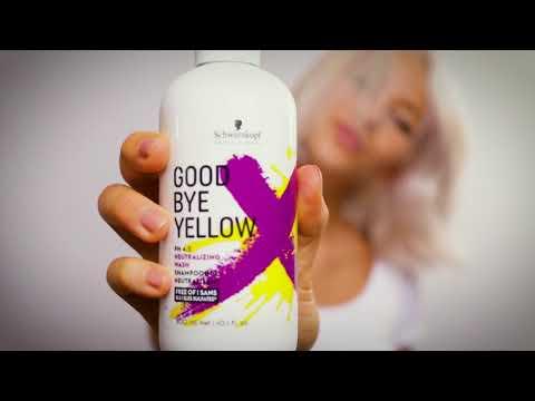 GoodBye Yellow Schwarzkopf Professional - hairStore.fr