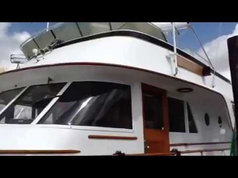 SOLD - 82 Burger 1965 Motoryacht for sale BANK REPO, BANK OWNED -1 World Yachts