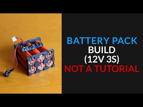 Making a Li-Ion 12V 3S Battery Pack