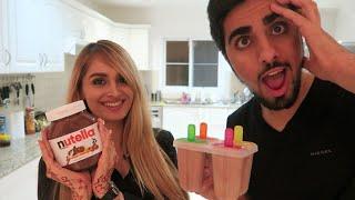 *Delicious* NUTELLA POPSICLE STICKS !!!