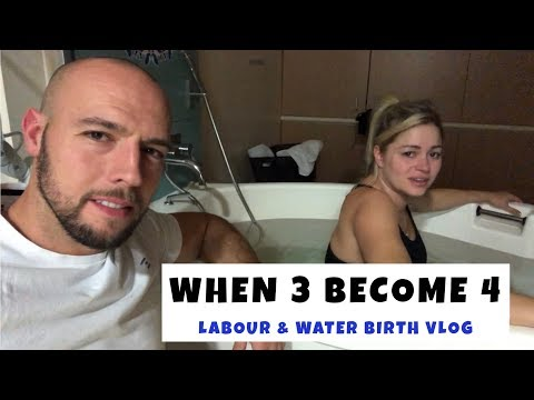 Labour & Delivery (water birth)  VLOG