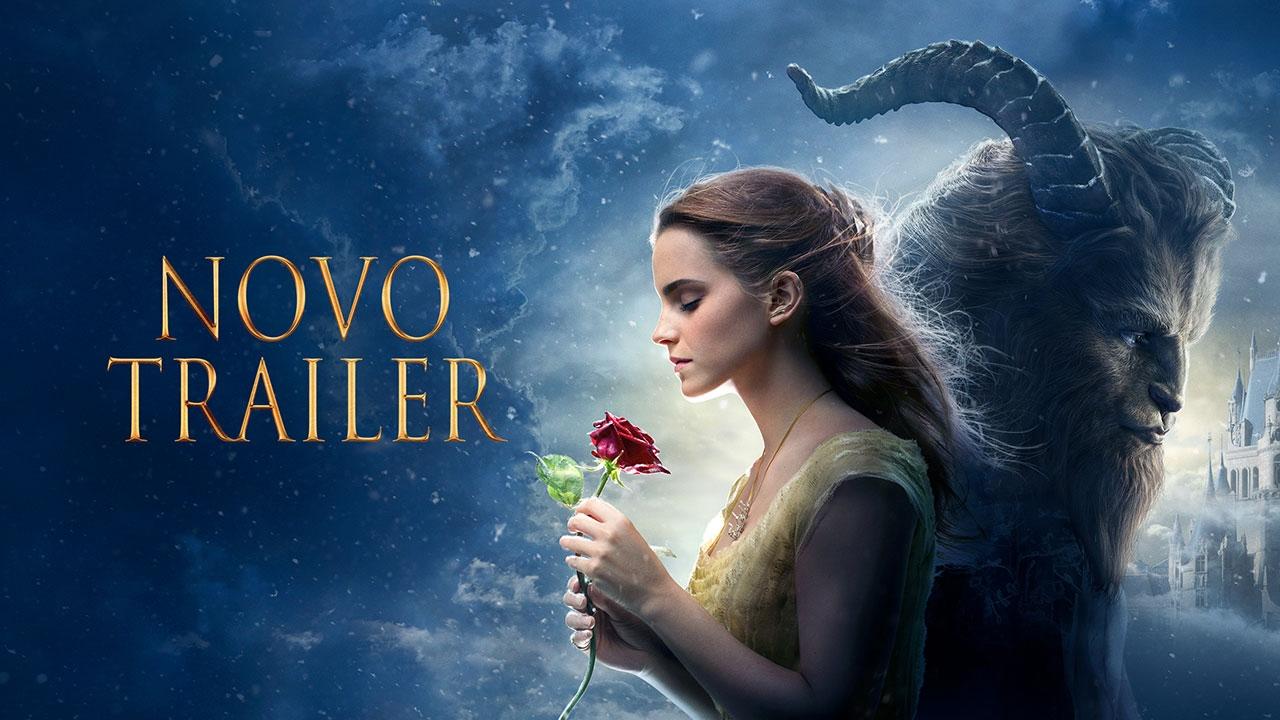 A Bela E O Monstro Novo Trailer Hd Youtube
